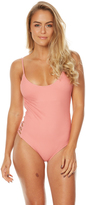 Billabong Meshing With You One Piece Pink