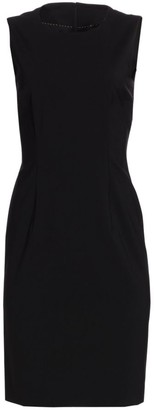 HUGO BOSS Dirusa Stretch Wool Dress