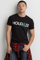 American Eagle Outfitters AE Holiday Graphic T-Shirt