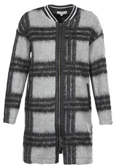 Cream CHIKA COAT women's Coat in Grey