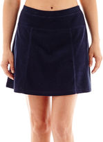 JCPenney Silverwear French Terry Skort - Petite