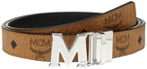 MCM Color Visetos Flat M Belt Belts