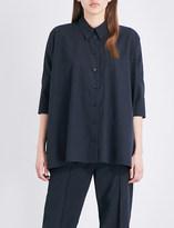 Maison Margiela Oversized twill shirt