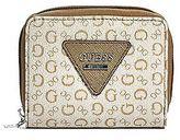 GUESS Women's Aislin Small Zip-Around Wallet