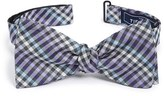The Tie Bar Men's Plaid Bow Tie