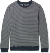 A.P.C. Striped Cotton Sweater