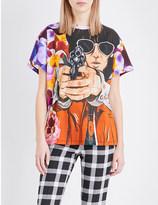 Christopher Kane Potpurri-print cotton-jersey t-shirt