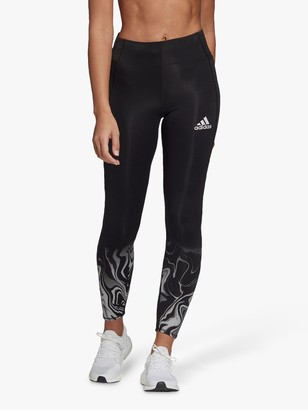 adidas How We Do Glam On 7/8 Running Tights, Black