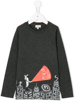 Paul Smith embroidered knitted sweater