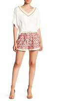 Ark & Co Embroidered Drawstring Short