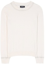 A.P.C. Flynn Cotton And Cashmere Sweater