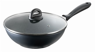 Baccarat Stone Wok With Lid 28cm