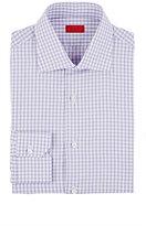 Isaia Men's Plaid Frank Shirt-LIGHT PURPLE