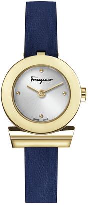 Salvatore Ferragamo Women's Gancino Strap Watch