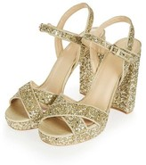 Topshop Women's Major Glitter Platform Sandal