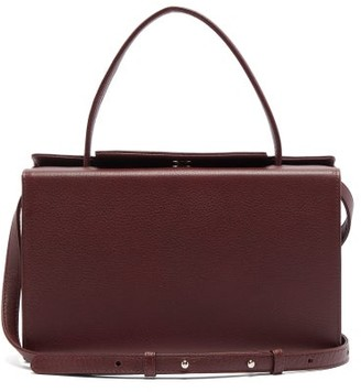 Tsatsas 931 Grained-leather Bag - Burgundy