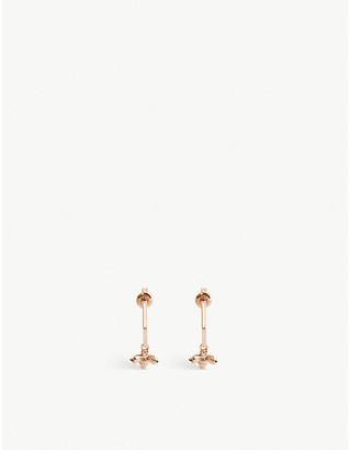 Ted Baker Bumble bee hoop earrings