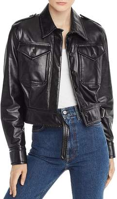 Helmut Lang Leather Moto Jacket