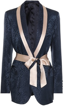 BLAZÉ MILANO Exclusive to Mytheresa Silk jacquard blazer