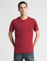 Saturdays Nyc Deep Red Randall Boucle T-Shirt