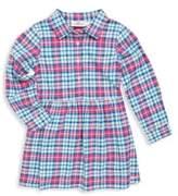Vineyard Vines Toddler's, Little Girl's & Girl's Plaid Cotton Dress