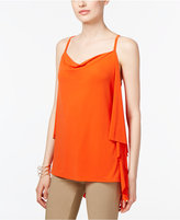 INC International Concepts Draped-Back Top, Only at Macy's