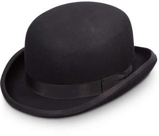 Dorfman Pacific Men Wool Bowler Hat
