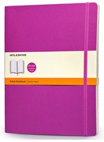 Moleskine Ruled Extra Large Soft Cover Notebook - Purple