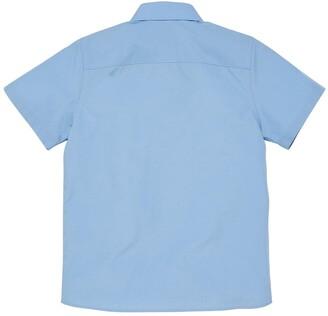 Very Girls 3 Pack Short Sleeve School Blouses - Blue
