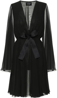 Giambattista Valli Silk-georgette minidress