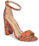 Orange Ankle Strap Heels - ShopStyle