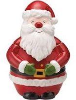 Martha Stewart Collection Holiday Vintage Santa Claus Cookie Jar