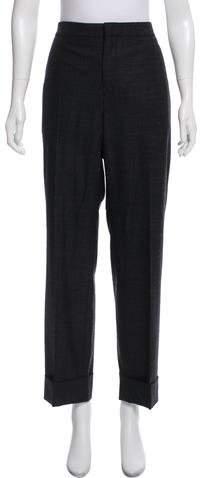 Maison Margiela High-Rise Straight-Leg Pants w/ Tags