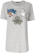 Alexander McQueen creature appliquéd T-shirt