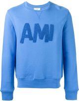 Ami Alexandre Mattiussi logo appliqué sweatshirt