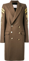 A.F.Vandevorst double breasted military coat