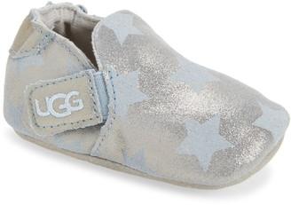 UGG Roos Metallic Star Crib Shoe