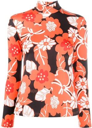 Rokh Floral Print Blouse