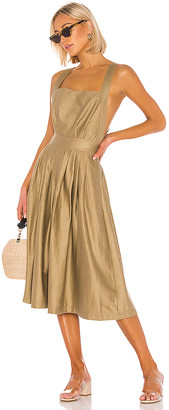 L'Academie The Liane Midi Dress
