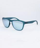 Calvin Klein Petrol & Blue Mirror Square Sunglasses - Unisex