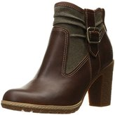 Timberland Women's Glancy F/L Side Zip Boot Ankle Bootie