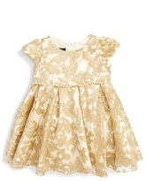Biscotti Infant Girl's Royal Treatment Embroidered Dress