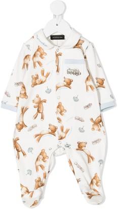 MonnaLisa Teddy one pocket pajama