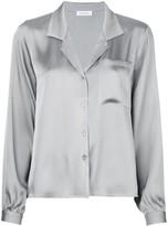 Anine Bing Lilah loose-fit silk shirt