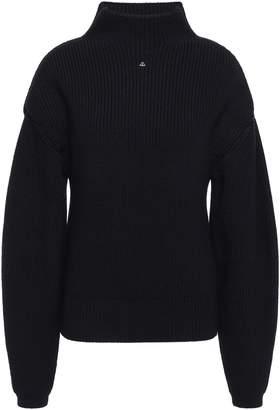 Lanvin Ribbed Wool Turtleneck Sweater