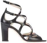 Jimmy Choo Dillan 85 sandals - women - Leather - 36.5