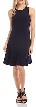 Karen Kane Sleeveless Seamed Dress