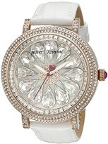 Betsey Johnson Women's BJ00553-03 Blitz Watch with White Band