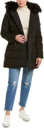 Vince Camuto Asymmetrical Puffer Jacket