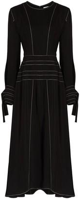 REJINA PYO Linda contrast-stitching midi dress